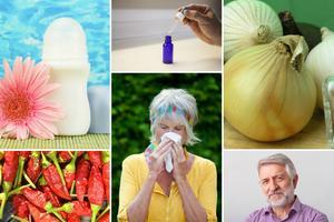 Pięć niezwykłych sposobów na alergię [fot. collage Senior.pl]
