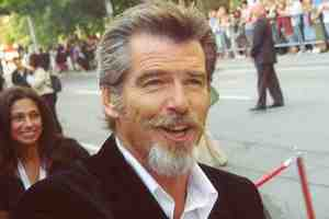 Pierce Brosnan kończy 60 lat [Pierce Brosnan, fot. Sheksays, CC BY 2.0, Wikimedia Commons]