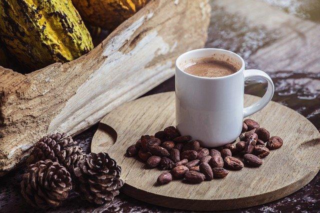 Pij kakao - pomaga sercu, gdy zmagasz się ze stresem [fot. Plants World from Pixabay]