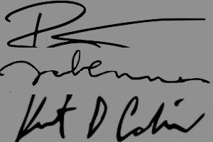 Pisz jak Kurt Cobain, David Bowie albo John Lennon [fot. collage Senior.pl/Wikipedia]