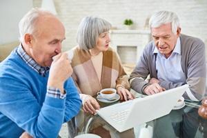 Platforma e-zdrowia przyczynia się do poprawy trybu życia osób starszych [© seventyfour - Fotolia.com]