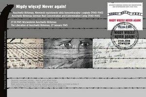 Poczta Polska upamiętnia ofiary nazistowskich obozów koncentracyjnych  [fot. Poczta Polska]