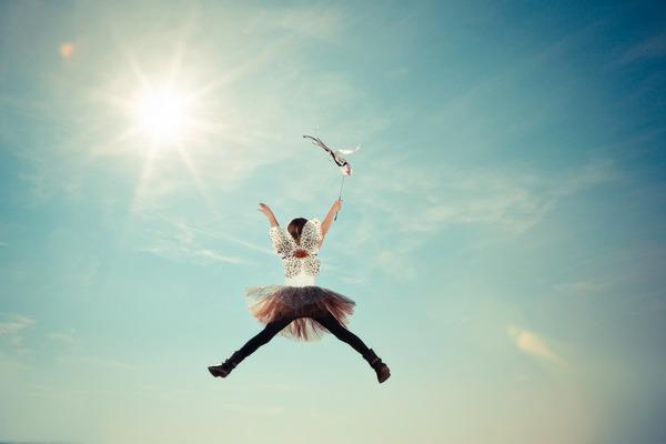 Poczucie szczęścia pomaga zachować aktywność fizyczną [fot. Pexels z Pixabay]