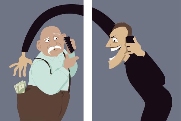 Podatność na oszustwa telefoniczne - oznaka demencji? [Fot. aleutie - Fotolia.com]