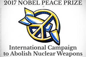 Pokojowa Nagroda Nobla 2017 - Międzynarodowa Kampania na Rzecz Zniesienia Broni Nuklearnej [fot. nobelprize.org]