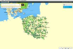 Polska mapa defibrylatorów [fot. PF.pl]