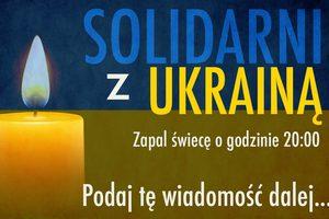 Polska solidarna z Ukrainą [fot. Solidarni z Ukrainą]