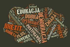 Polskie Słowa Roku 2016: 500+, protest, edukacja, trybunał [fot. Słowo Roku]