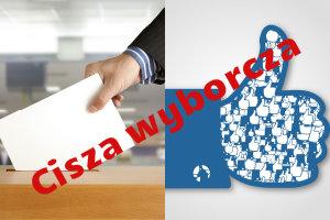Polubienie na Facebooku narusza ciszę wyborczą [fot. collage Senior.pl]