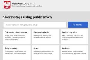 Portal obywatel.gov.pl: dziesi�tki us�ug urz�dowych w jednym miejscu  [fot. www.obywatel.gov.pl]