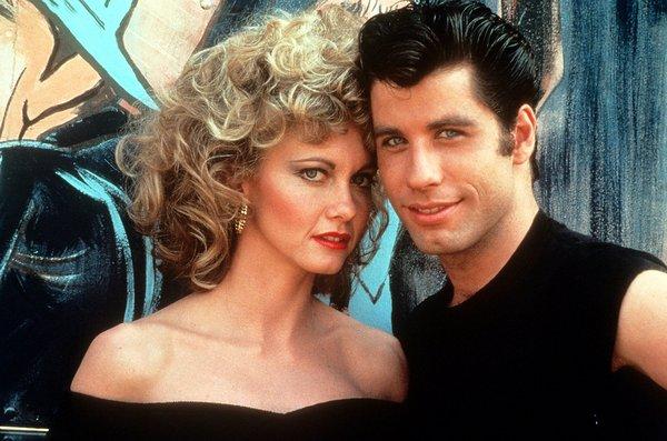 Olivia Newton-John i John Travolta fot. Paramount Pictures