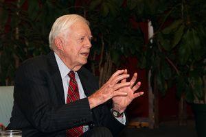 Prezydent Jimmy Carter zdrowy? Rak mózgu się cofnął [Jimmy Carter, fot. U.S. National Archives, PD]