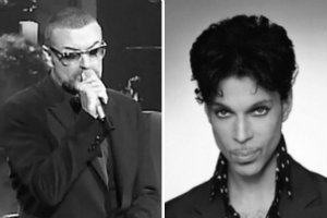 Prince i George Michael upamiętnieni na Grammy [fot. collage Senior.pl]