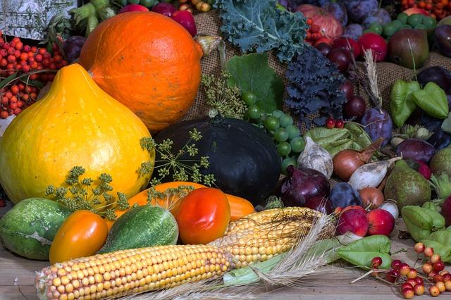 Prosty sposób na stres - więcej warzyw i owoców w diecie [fot. andreas N from Pixabay]