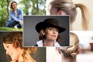 Przetłuszczające się włosy - potrzebna odpowiednia fryzura [fot. collage Senior.pl]