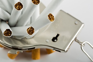 Przykre objawy towarzyszące rzucaniu palenia normalnym zjawiskiem [© Nomad_Soul - Fotolia.com]