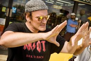 Quentin Tarantino jeszcze nie kończy z kinem [Quentin Tarantino fot. Kino Świat]