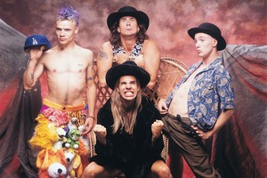 Red Hot Chili Peppers fot. Warner Music Poland