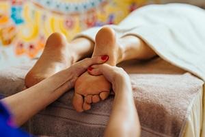 Refleksologia - spos�b na stres i zwi�zane z nim dolegliwo�ci? [© baranq - Fotolia.com]