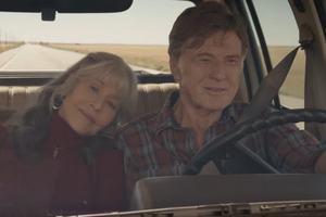 Robert Redford i Jane Fonda na romantycznej przejażdżce [TEASER] [fot. Our Souls at Night | Teaser | Netflix]