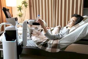 Roboty pomog� seniorom [FILM] [fot. Toyota]