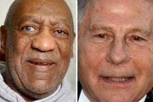 fot. Bill Cosby/Roman Polański collafe. Senior.pl /Wikimedia Commons