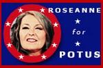 Roseanne Barr startuje w wyborach na prezydenta USA [fot. roseanneworld.com]