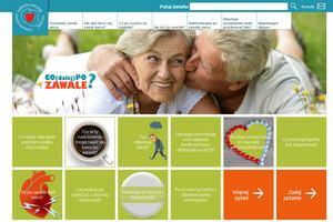 Ruszył portal informacyjny dla osób po zawale serca [fot. copozawale.pl]