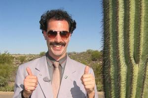 Sacha Baron Cohen zapłaci grzywnę za czeskich turystów aresztowanych w stroju Borata [Sacha Baron Cohen fot. CinePix]