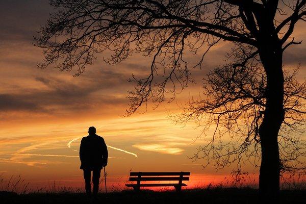Samotność skraca życie [fot. S. Hermann & F. Richter z Pixabay]