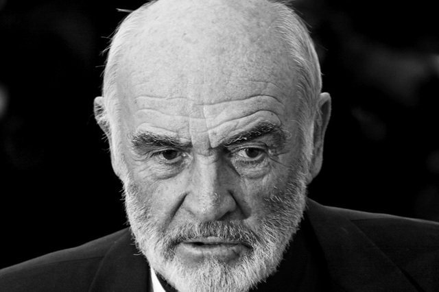 Sean Connery nie żyje [Sean Connery, fot. Stuart Crawford, CC BY-SA 3.0, Wikimedia Commons]