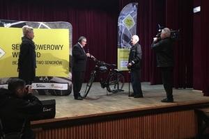 Seniorowerowy Weekend - udana pierwsza edycja, bezpieczniejsi seniorzy [fot. www.krbrd.gov.pl]