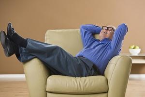Siedzący styl życia zwiększa ryzyko niewydolności serca u mężczyzn [© AVAVA - Fotolia.com]