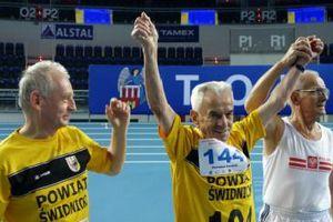 Stanisław Kowalski, 104-letni lekkoatleta rekordzistą świata [Stanisław Kowalski, fot. pzwla.eu]