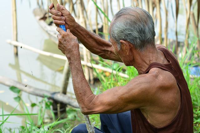 Starzenie się mięśni - sarkopenię może powstrzymać rapamycyna [fot. Viet Phan from Pixabay]