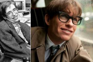 Stephen Hawking dumny z Eddiego Redmayne'a [fot. hawking.org.uk/Teoria wszystkiego]