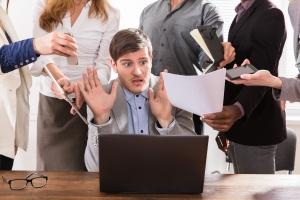 Stres w pracy kosztuje blisko 10 mld zł [Fot. Andrey Popov - Fotolia.com]