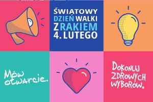 Światowy Dzień Walki z Rakiem 2017 [fot. http://www.worldcancerday.org]