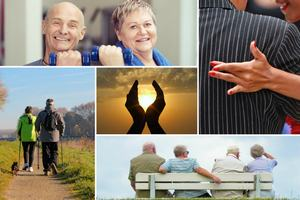 Szczęście na wyciągnięcie ręki - jak je osiągnąć i zatrzymać [fot. collage Senior.pl]