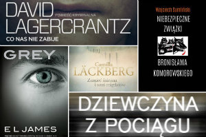 TOP 5 bestsellerów 2015 roku - najczęściej kupowane książki [fot. collage Senior.pl]