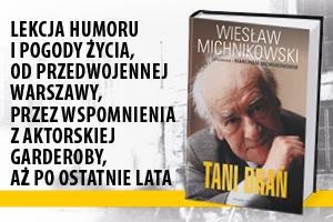 Tani drań - Wywiad rzeka z Wiesławem Michnikowskim [fot. Prószyński]