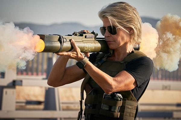 """""""Terminator: Mroczne przeznaczenie"""": Sarah Connor powraca [Linda Hamilton fot. Imperial - Cinepix]"""