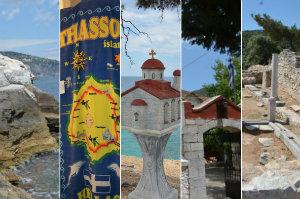 Thassos - wielkie greckie wakacje na małej wyspie [fot. collage Senior.pl / JEN]