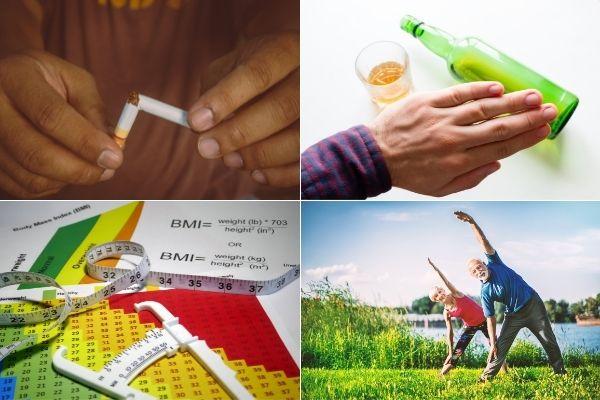 To zmniejszy ryzyko raka, nawet gdy czynniki genetyczne sprzyjają chorobie [fot. collage Senior.pl / Canva]