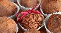 Trufle mocno czekoladowe