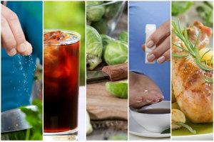 Tych sześć produktów powoduje wzdęcia [fot. collage Senior.pl]