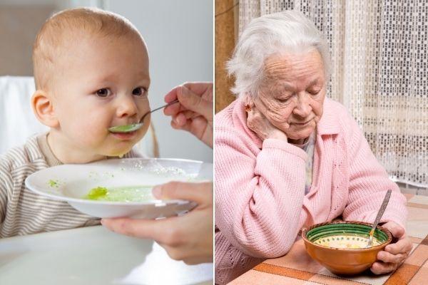 W jakim wieku metabolizm jest najszybszy, a w jakim najwolniejszy? [fot. collage Senior.pl / Canva]