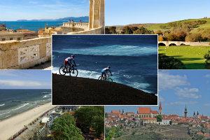 Wakacje na rowerze: 5 wyjątkowych miejsc w Europie [fot. collage Senior.pl]