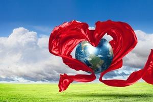Walentynki bez granic czyli wszyscy mówia: Kocham Cię [© Sergey Nivens - Fotolia.com]