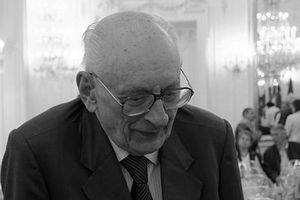 W. Bartoszewski, fot. Pelz, CC BY-SA 3.0, Wikimedia Commons